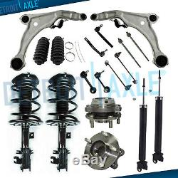 18pc Front Struts & Spring Assembly Control Arm Kit for 2009-2014 Nissan Maxima