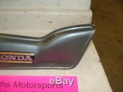 1974 HONDA TRAIL CT90 OEM front plastic body frame tube down cover trim