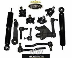 1995 Toyota Pickup 4WD Front Suspension Steering Kit Shock Absorbers Ball Ends
