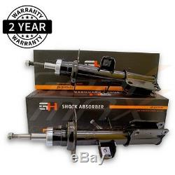 2 Brand New Front Shock Absorbers For Bmw X5 (e53) 2000-2006/gh-351595p/
