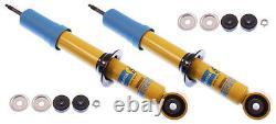 2-bilstein Shock Absorbers, Front, 00-06 Toyota Tundra, 01-07 Sequoia, Monotube, Gas