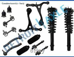 2003 2004 2005-2007 Honda Accord Front Struts & Coil Spring Suspension Kit 2.4L