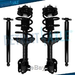 2008 2009 2010 Honda Odyssey FWD Front Struts with Spring & Rear Shocks Absorbers
