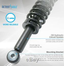 2009-2011 2012 2013 Ford F-150 4x4 Front Struts with Spring Rear Shocks Absorbers