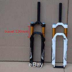 26 inch Mountain Bike Suspension Front Fork Cruiser Air Suspen Shock Absorber