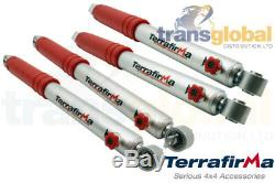 +3 4 Stage Adjustable Front & Rear Shock Absorbers for Land Rover Discovery 2