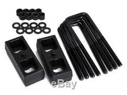 3 Front + 3 Rear Lift Kit Chevy Silverado GMC Sierra 2500HD +Pro Comp Shocks