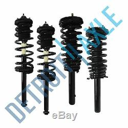 (4) Front & Rear Strut Coil Spring Kit for 1999 2000 2001 2002 2003 Acura TL