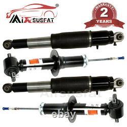 4X Front Rear Air Suspension Electric Shock Strut for Cadillac Escalade Yukon
