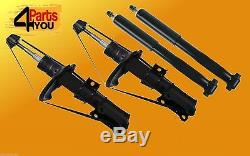 4x VOLVO V70 II FRONT REAR S80 S60 XC70 SHOCK ABSORBERS SHOCKERS SET DAMPERS