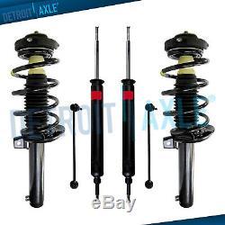 6pc Front Struts & Spring Sway Bar + Rear Shock Kit for BMW 128i 135i 328i 335i