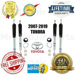 Adjustable Front With Rear Pair Shock Set for 07-19 Toyota Tundra Bilstein 5100