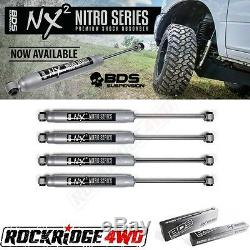 BDS NX2 Series Shock Absorbers 99-04 JEEP Grand Cherokee WJ with 4 of Lift 4 SET