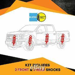 Bilstein B6 4600 Front & Rear shocks for 06-`10 Hummer H3 Kit 4