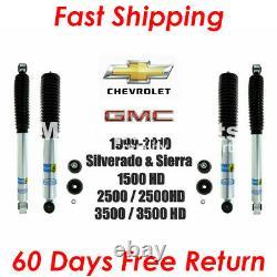 Bilstein B8 5100 Front Rear Shocks For Chevy Silverado GMC Sierra