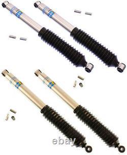 Bilstein Shock Absorber Set, Front & Rear Shocks, 5100 Series, Lift, Jeep Cj5, Cj7