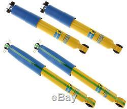 Bilstein Shock Absorber Set, Front & Rear Shocks, 88-00 Gm K2500, K3500 4wd Truck