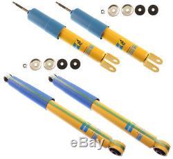 Bilstein Shock Absorber Set, Front & Rear Shocks, 99-07 Gm 4wd Silverado & Sierra