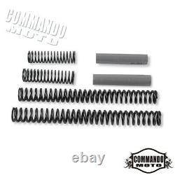 Black Rear Lowering Slammer Kit For Harley Electra Glide FLHT Road King 1984-13