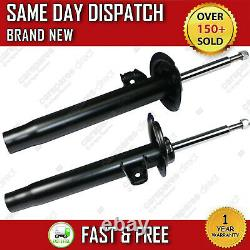 Bmw 3 Series E46 1999on Front Shock Absorbers X2 Kit Pair Brand New
