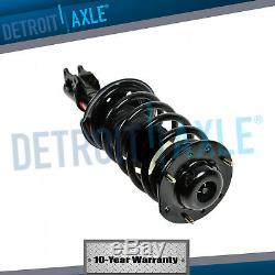 Both (2) Front Complete Strut withCoil and Springs + Sway Bar Links for Malibu G6