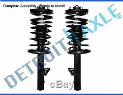 Both (2) Front Strut with Spring & Mount Quick Assembly for Hyundai Azera & Sonata
