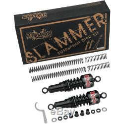 Burly Brand Black Front Rear Lowering Slammer Kit 04-15 Harley Sportster XL