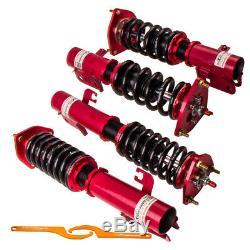 CA For Subaru Impreza WRX GC8 24 Steps Damper Coilover Coil Spring Struts
