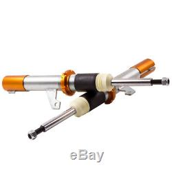 COILOVER for VW GOLF MK5 ADJUSTABLE SUSPENSION 50/55mm front struts COILOVERS