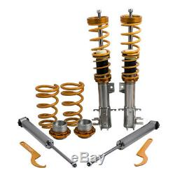 Coilover Suspension Spring Shock Struts for Opel Corsa D 2006-2014