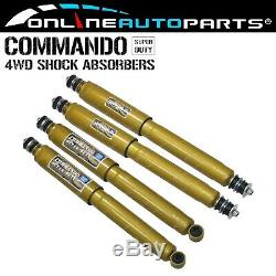 Commando Foam Cell Front & Rear Shock Absorbers suits Toyota 80 & 105 Series