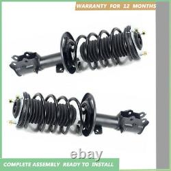 Complete Shock Absorbers Struts Spring Assembly for Ford Fiesta 2008-2017 MK6