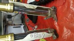 Crf250l front forks with hyperpro spring
