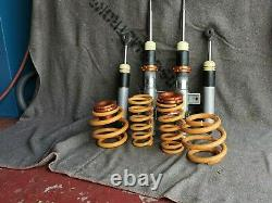 F+R Shock absorber+Springs from Coilover kit VW T5 All Engines T26 T28 T30