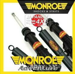 Fits MITSUBISHI L200 KB40 2 x Monroe Front Gas Shock Absorbers 2006 2016