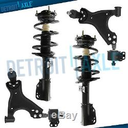 For 2007-2016 Saturn Outlook GMC Acadia Traverse Front Struts Lower Control Arms