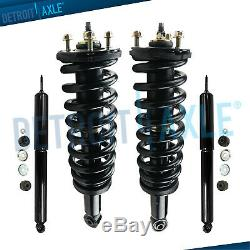 For 4WD 2000 2002 2003 2004 2005 2006 Toyota Tundra Front Struts Rear Shocks