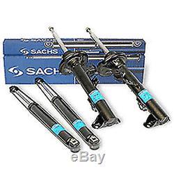 For Bmw E46 M3 3.2 Front + Rear Shock Absorber Struts Shockers Sachs Boge German