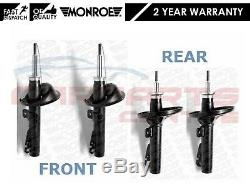 For Ford Mondeo Mk2 St24 2.5 V6 2 Front Rear Monroe Shock Absorbers 1996-2000