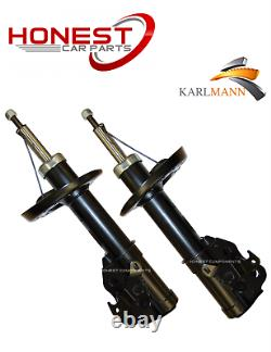 For HONDA CIVIC MK8 2005 FRONT SHOCK ABSORBERS PAIR & MOUNTINGS KIT & LINK BARS