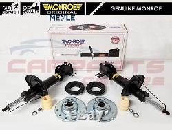 For Saab 93 9-3 9.3 2 Front Monroe Shock Absorbers Top Mounts Bearings Kit 02-11