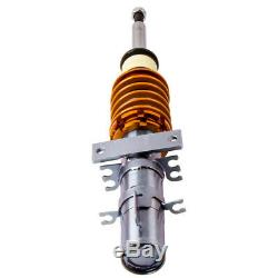 For VW Polo 9N 9N3 SEAT Ibiza MK3 4 6L Adjustable Coilovers Suspension Kit