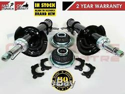 For Vauxhall Astra H Mk 5 Front Pair Shock Absorbers & Strut Top Mounts Bearings