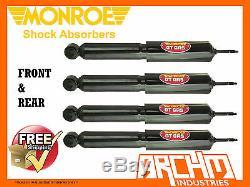 Ford Falcon XD Xe Xf Xg Ute & Van Front & Rear Monroe Gt Gas Shock Absorbers