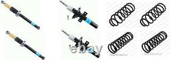 Ford Fiesta Rs1800 Turbo 4 Coil Spring 4 Shock Absorbers Front Rear Set