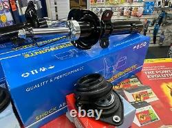 Ford Focus C-max Mk2 2004-2012 Front Shock Absorbers + Top Mountbrand New Pair