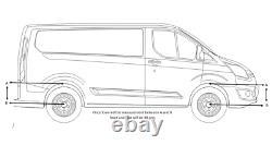 Ford Transit Custom Front & Rear Lowering Springs & Shocks 2018 Eibach