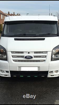 Ford Transit MK6-MK7 Sun Visor Solid White Acrylic 2002-2013