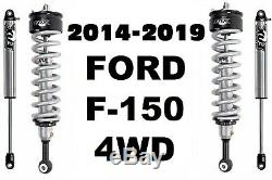 Fox 2.0 Performance Series Front Coil-Over + Rear Shocks For 14-19 F-150 4WD