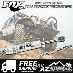 Fox 2.0 Performance Series IFP Steering Stabilizer fits 07-18 Jeep Wrangler JK